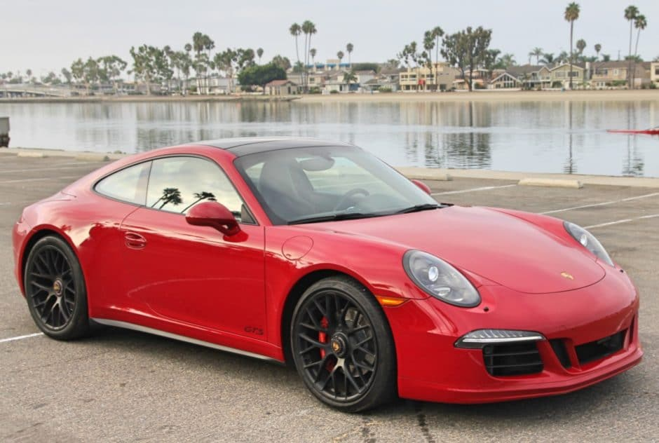 Porsche 911 Carrera GTS Coupe 2015