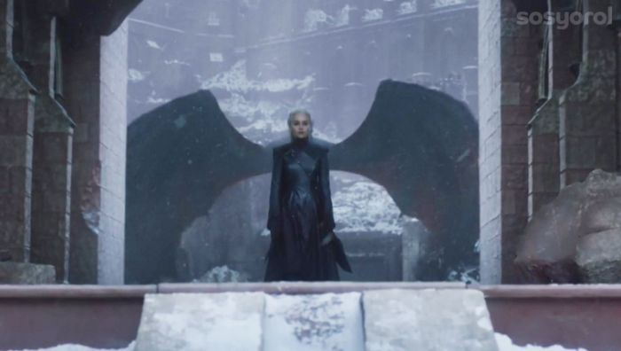 dany ejderhalarin annesi 1 game of thrones final