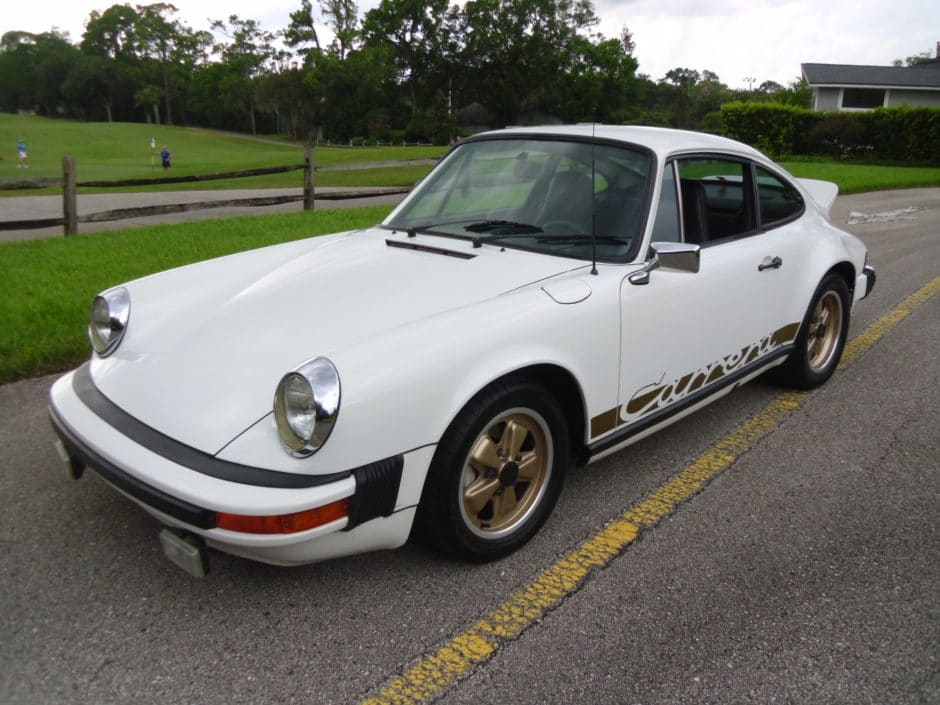 porsche 911 carrera coupe 1974